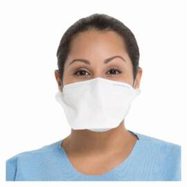 KIMBERLY CLARK* 62355 PFR95* LARGE POUCH STYLE SURGICAL MASK WITH PARTICULATE FILTER RESPIRATOR, S, N95 FILTER RATING, RESISTS: FLUID