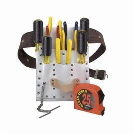 Klein® 5300 Electrician'S Tool Kit, 11 Pieces, Adjustable Web Belt