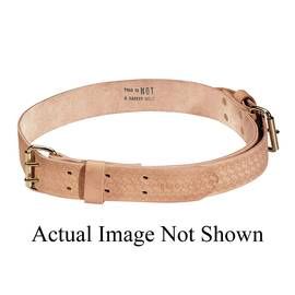 Klein® 5420 Heavy Duty Ironworker'S Tie-Wire Belt, M, Leather, Beige