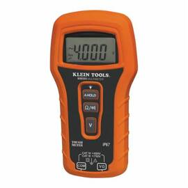 Klein® mm500 Auto Ranging Multimeter, 750 Vac/Vdc, 4 Kohm, Backlit Display