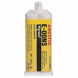 Loctite® 29294 Hysol® E-00Ns™ 2-Part Fast Set Non-Sag Epoxy Adhesive, 50 Ml Dual Cartridge, Liquid, Clear, 1.17