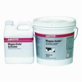 Loctite® Fixmaster® 95551 Pc 9410™ Magna-Crete™ 2-Part Concrete Repair, 1 Gal Kit, Liquid/Powder, Clear/Dark Green/Gray, 2.65 To 2.85 Part A, 1.3 To 1.45 Part B