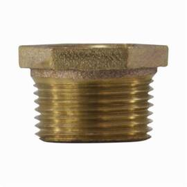 mmm 44528 Hex Bushing, 2 X 3/4 In, Mpt X Fpt, Bronze, Import