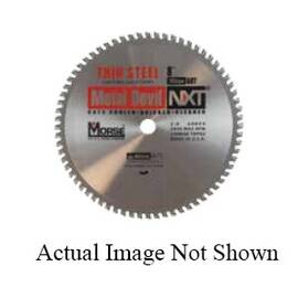 M.K. Morse® Metal Devil Nxt™ Csm1466Nsc Circular Saw Blade, 14 In Dia X 0.079 In Thk, 1 In Arbor, Hardened Steel Blade, 66 Teeth