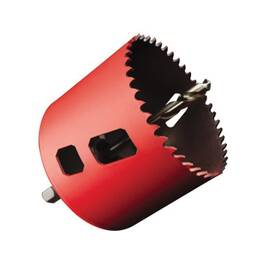 M.K. Morse® 116220 Mhsa Advanced Hole Saw With Arbor, 1-3/8 In Dia, 1-15/16 In D Cutting, M42 Hss-Co 8 Cutting Edge, 5/8-18 Arbor