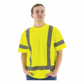 Majestic Glove M-Safe 75-5303 Non-Insulated Short Sleeve Safety T-Shirt
