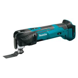 Makita® Cordless Oscillating Tool Kit, MultiTool, Kit, Series: LXT®, 18 VDC, Lithium-Ion Battery Type, 3 Ah Battery, 6000 to 20000 opm, Reinforced Composite Housing, Barrel Grip, Teal, 12 in L