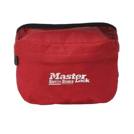 MASTER LOCK® S1010 PORTABLE LOCKOUT POUCH, POUCH CASE, POLYESTER, FOR USE WITH OSHA SAFETY LOCKOUT/TAGOUT