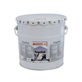 MATHYS® 202600 PEGALINK® 1-COMPONENT WATER BASED ACRYLIC PRIMER, 3.96 GAL CONTAINER, LIQUID FORM, WHITE, 245 TO 300 SQ-FT/GAL COVERAGE, 2 DAYS CURING
