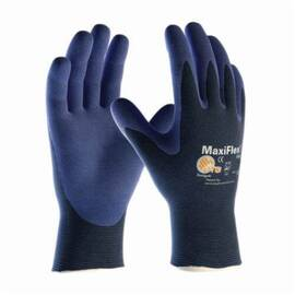 PIP® 34-PK-274 Maxiflex® Elite™ Coated Glove, General Purpose Ultra Lightweight, Foam Nitrile Palm, Abrasion/Cut/Puncture/Tear Resistant, 8.7 in Length, Blue