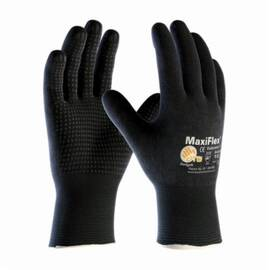 PIP® 34-8745 Maxiflex® Endurance™ Coated Glove, Nitrile Palm, Abrasion/Cut/Puncture/Tear Resistant, 9.1 in Length, Black