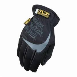 Mechanix Wear® MFF-05 Mechanics Glove, Multi-Purpose, Fastfit MFF, Synthetic Leather Palm, Spandex® Padded/Nylon, Black