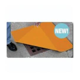 MELTBLOWN DS-1818 ULTRA DRAIN COVER, POLYURETHANE, ORANGE