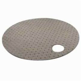 Meltblown Gdt22Nl 1-Ply Heavyweight Straight Drum Top Pad, 22 In L X 22 In W, 17.07 Gal/Bale Absorption