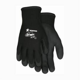 N9690 Ninja Ice 15 Gauge Black Nylon Gloves
