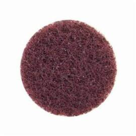 Merit® High Strength Non-Woven Abrasive Disc, Quick-Change, Type TS (Type II) Attachment, 2 in Diameter Disc, Aluminum Oxide Disc Material, Medium Grade