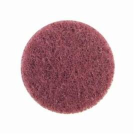 Merit® High Strength Non-Woven Abrasive Disc, Quick-Change, Type TS (Type II) Attachment, 2 in Diameter Disc, Aluminum Oxide Disc Material, Very Fine Grade