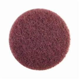 Merit® High Strength Non-Woven Abrasive Disc, Quick-Change, Type TS (Type II) Attachment, 3 in Diameter Disc, Aluminum Oxide Disc Material, Medium Grade
