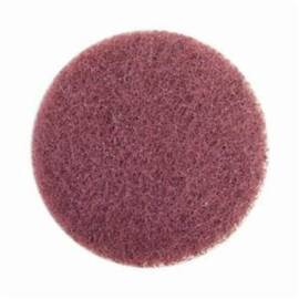 Merit® High Strength Non-Woven Abrasive Disc, Quick-Change, Type TS (Type II) Attachment, 3 in Diameter Disc, Aluminum Oxide Disc Material, Very Fine Grade