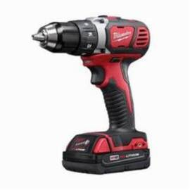 Milwaukee® 2606-22Ct M18™ Cordless Drill Driver Kit, 1/2 In Keyless/Metal Single Sleeve Ratcheting Lock Chuck, 500 In-Lb Torque, 18 Vdc, Lithium-Ion Battery