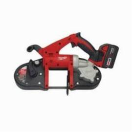 Milwaukee® 2629-22 M18™ Cordless Band Saw Kit, 3-1/4 In Cutting, 35.375 In L X 0.5 In W X 0.02 In Thk Blade, 18 Vdc, 3 Ah Li-Ion Battery