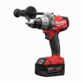 Milwaukee® 2703-22 M18 Fuel™ Cordless Drill Driver Kit, 1/2 In Keyless/Metal Single Sleeve Ratcheting Lock Chuck, 1200 In-Lb Torque, 18 Vdc, Lithium-Ion Battery