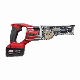 Milwaukee® 2720-22 M18™ Fuel™ Sawzall® Adjustable Shoe Cordless Reciprocating Saw Kit, 1-1/8 In L Stroke, 0 To 3000 SPM, Straight Cutting, 18 Vdc