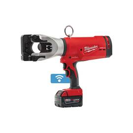 Milwaukee® 2777-21 M18™ Force Logic™ Cordless Cable Cutter Kit, Up To 1590 Falcon Acsr Cutting, 18 Vdc, 5 Ah Lithium-Ion Battery