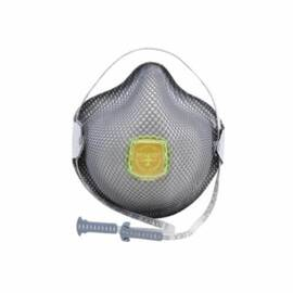 MOLDEX® 2840R95 DISPOSABLE PARTICULATE RESPIRATOR WITH VENTEX® VALVE, M/L, RESISTS: HEAT, FLAME AND NON-OIL BASED PARTICULATES