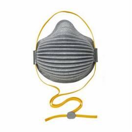 MOLDEX® 4800 N95 AIRWAVE® DISPOSABLE PARTICULATE RESPIRATOR WITH FULL FOAM FACESEAL, M/L, RESISTS: OIL-FREE PARTICULATES