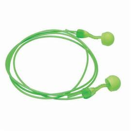 Moldex® 6945 Glide® Corded Multiple Use Disposable Ear Plug, Universal, 30 Db, Round, Green