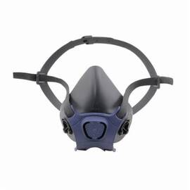 Moldex® 7001 7000 Half Mask Respirator, S, Adjustable Head Cradle/Curved Neck Buckle Headstrap