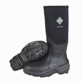 Muck® ASP-STL-BL Work Boots, High Performance Waterproof, Arctic Sport Steel Toe, Impact Resistant, 16 in High, Black