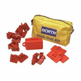 NORTH® BY HONEYWELL LK112F ELECTRICAL PORTABLE BREAKER LOCKOUT POUCH, POUCH CASE, NYLON, FOR USE WITH ELECTRICAL LOCKOUT