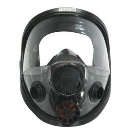 North® By Honeywell 760008A 7600 Full Facepiece Respirator With 5-Point Headstrap, M/L, Black