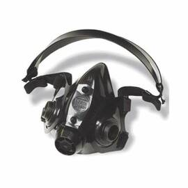 North® By Honeywell 770030L 7700 Half Mask Respirator, L, Black