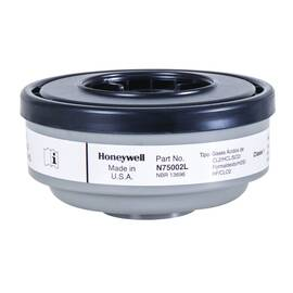 North® By Honeywell N75002L N Series Apr Cartridge, For Use With 5400, 5500, 7600 And 7700 Series Respirators, Acid Gas