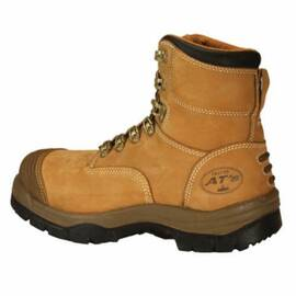 OLIVER BY HONEYWELL 55232-TN-130 NON-INSULATED WORK BOOTS, MEN'S, SZ 13, 6 IN H, STEEL TOE, FULL GRAIN LEATHER UPPER, RUBBER OUTSOLE, RESISTS: ABRASION, IMPACT, SLIP AND WATER, SPECIFICATIONS MET: ASTM F2413-11 M I/75 C/75 SD