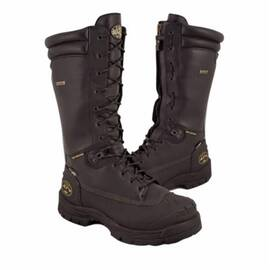 OLIVER BY HONEYWELL 65691-BLK-150 INSULATED WORK BOOTS, MEN'S, SZ 15, 14 IN H, STEEL TOE, LEATHER UPPER, RUBBER OUTSOLE, RESISTS: ABRASION, CUT, PUNCTURE, IMPACT, SLIP, WATER AND OIL, SPECIFICATIONS MET: ASTM F2413-11 M I/75 C/75 MT/75 PR SD