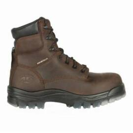 OLIVER BY HONEYWELL 45633C-BRN-120 WORK BOOTS, MEN'S, SZ 12, 6 IN H, COMPOSITE TOE, LEATHER UPPER, THERMOPLASTIC POLYURETHANE OUTSOLE, RESISTS: IMPACT, SLIP, HEAT AND ABRASION, SPECIFICATIONS MET: ASTM F2413-11 M I/75 C/75 EH