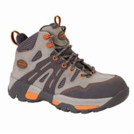 OLIVER BY HONEYWELL OL21113-GRY-110 INDUSTRIAL HIKER MID HEIGHT WORK SHOES, WOMEN'S, SZ 11, 5 IN H, STEEL TOE, LEATHER UPPER, RESISTS: WATER, SPECIFICATIONS MET: ASTM F2413-11 M I/75 C/75 EH PR