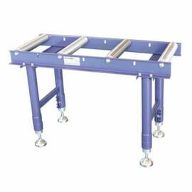 PALMGREN® Material Roller Stand, 1103 lb Static, 17.323 in Width, 37.402 in Height, 14.173 in Roller Width