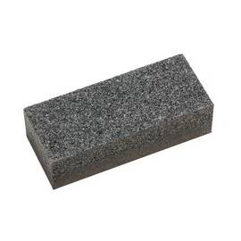 PFERD Dressing Stone, 2-Side Medium, 4-3/4 in Overall Length, 2 in Overall Width, 30/60 Grit, Coarse/Fine Grade