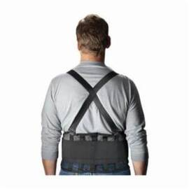 PIP® 290-440 Ergonomic Back Support Belt, Nylon Mesh, 9 in Width, Black
