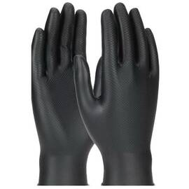 PIP® 67-246 Ambi-Dex® Grippaz® Chemical Resistant Glove, Powder Free, Puncture Resistant, 9-1/2 in Length, Black