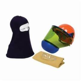 PIP® 9150-52508 ARC FLASH KIT, HAZARD RISK CATEGORY (HRC): 2, HOOD/FACE SHIELD MAX ARC FLASH PROTECTION: 12 CAL/SQ-CM, GARMENT MAX ARC FLASH PROTECTION: 12 CAL/SQ-CM, SPECIFICATIONS MET: NFPA 70E-2018, HARD HAT HEAD/FACE PROTECTION, UNIVERSAL HARD HAT