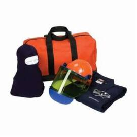 PIP® 9150-5388E/XL ARC FLASH KIT, HAZARD RISK CATEGORY (HRC): 2, HOOD/FACE SHIELD MAX ARC FLASH PROTECTION: 8 CAL/SQ-CM, GARMENT MAX ARC FLASH PROTECTION: 8 CAL/SQ-CM, SPECIFICATIONS MET: NFPA 70E-2018, ARC SHIELD/HARD HAT HEAD/FACE PROTECTION, XL GARMEN