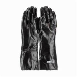 PIP® Procoat® 58-8040 Mens Chemical Resistant Gloves, Universal, Black, Cotton/Pvc