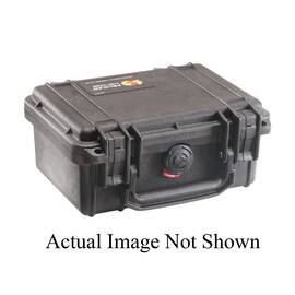 Pelican™ PROTECTOR CASE™ Protective Case, Small, Series: 1120, 8.41 in Outside Length, 6.76 in Outside Width, 3.87 in Outside Height, 7.46 in Inside Length, 4.96 in Inside Width, 3.33 in Inside Height, 0.01 cu-ft, Polypropylene, Yellow, 1/2 in Lid Dep