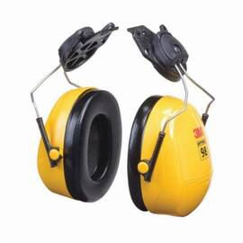 Peltor™ Optime™ 093045-08093 Ear Muff, 23 Db Noise Reduction, Yellow/Black, 98 Cap Mount Band Position, Abs
